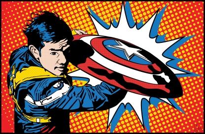 Osric Chau as Captain America